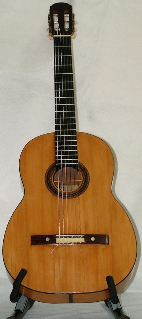 1870's Eladio Molina Malaga 19th Century Guitar