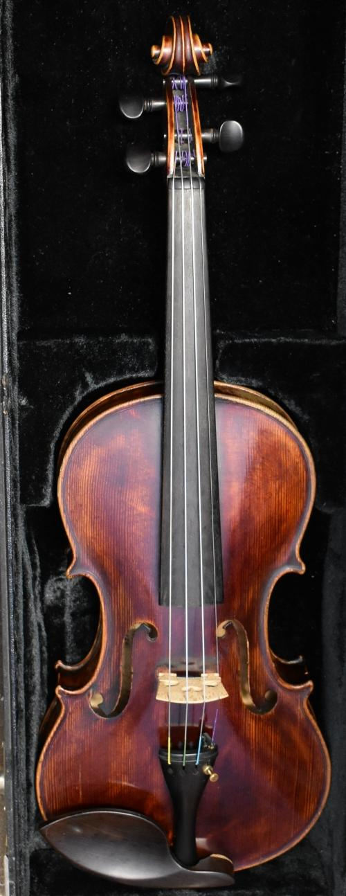 1909 Joseph G. Tarr Violin # 120 Dated and numbered in ink
