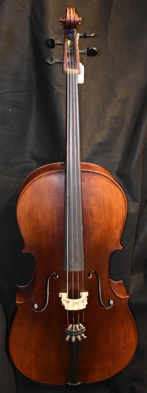 Matte finish cello