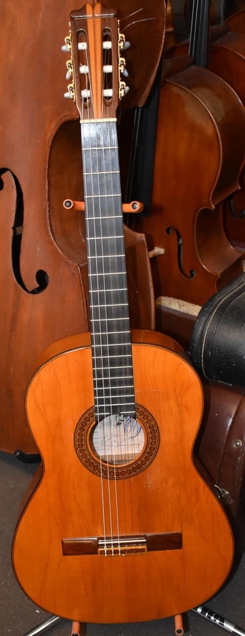 1972 Evelio Dominguez Flamenco Guitar