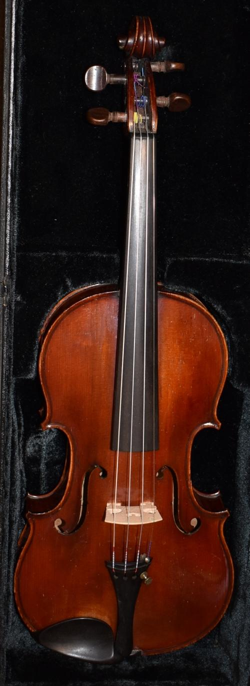 1885 Telesphore Barbe  Signed and dated No. 48 Stradivari 'Le Messie'