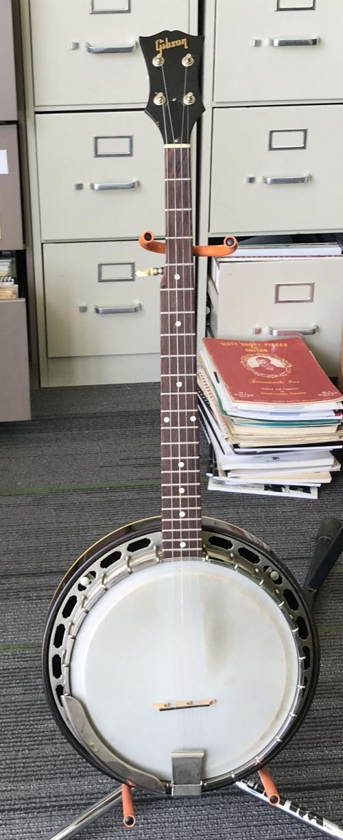 1962 Gibson 5 String Banjo With Resonator