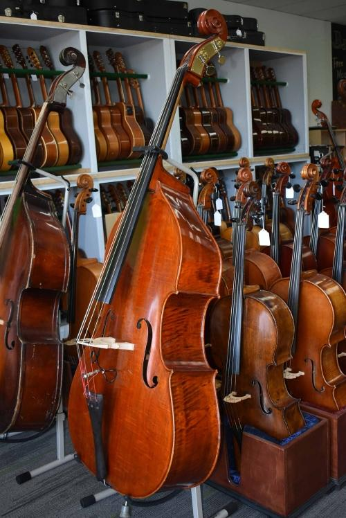 Violin Corner 3/4 Double Bass with Pickup