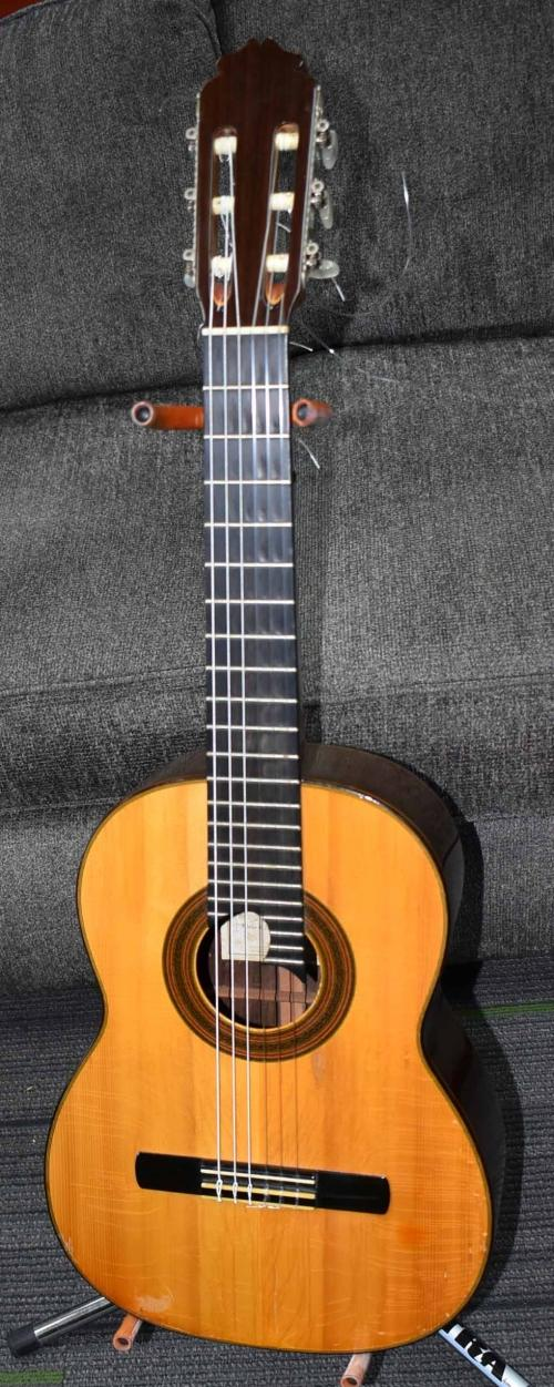 1958 Eugenio Colon Guzman Signed Requinto