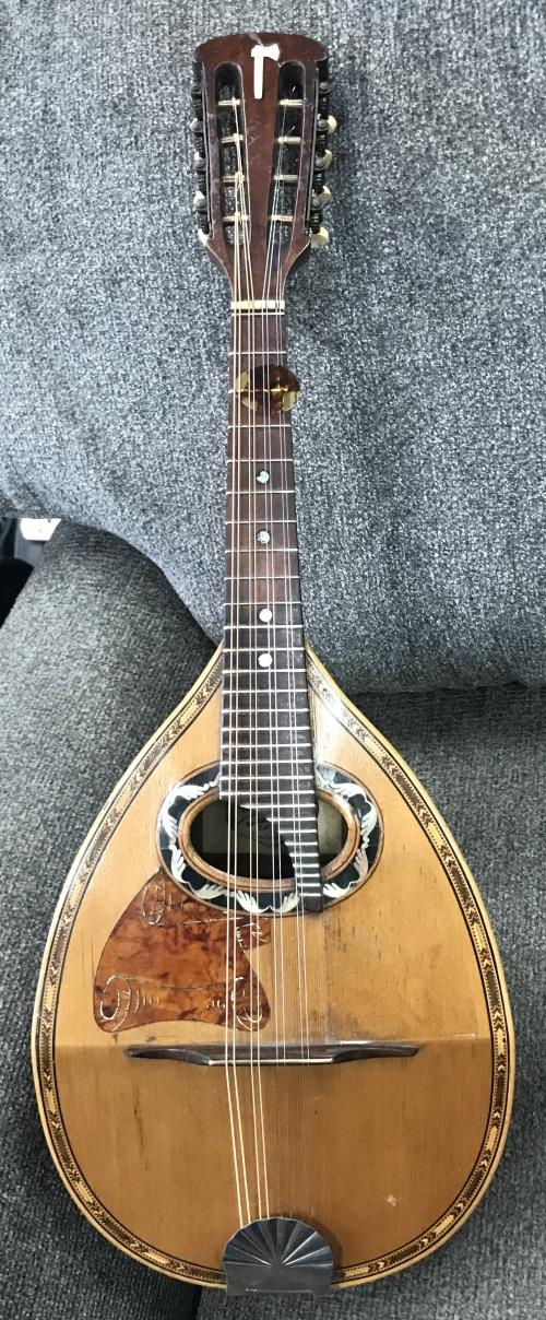 1900 Francisco Pistoresi Mandolin