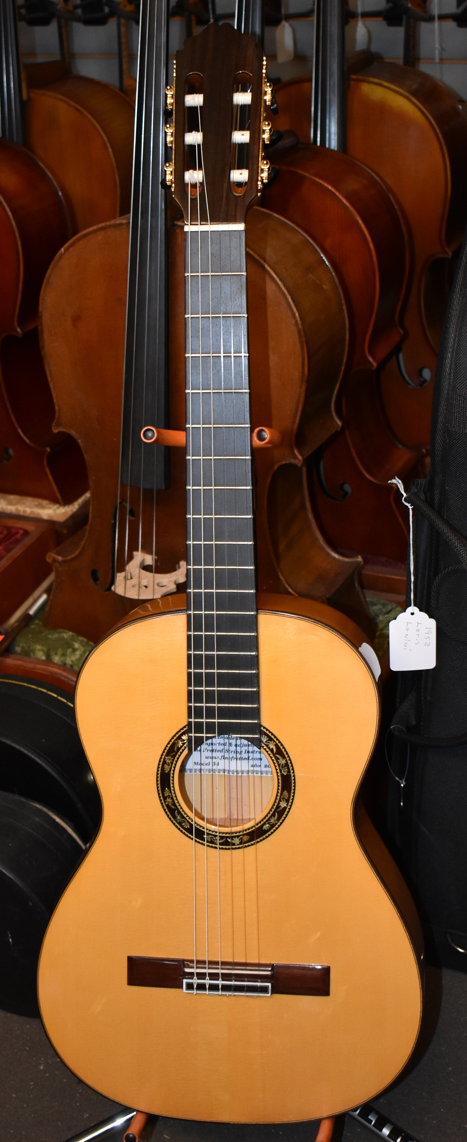 2017 Luis Molina Flamenco Guitar without 2 Chevrons Model 34